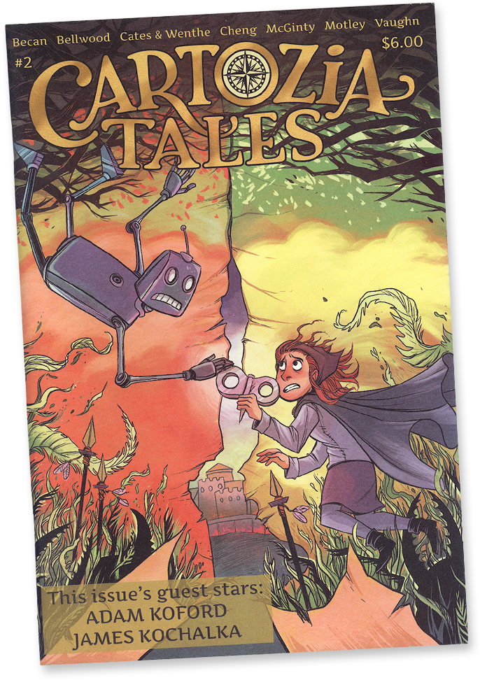 Cartozia Tales #2 edited by Isaac Cates