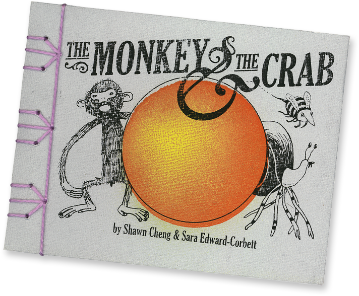 The Monkey & The Crab by Shawn Cheng